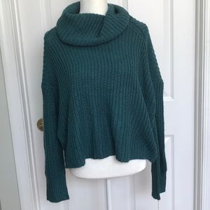 Mossimo Supply Co. Sweaters - NWT mossimo teal green cropped sweater